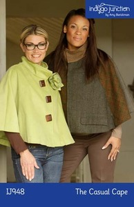 Indygo Junction The Casual Cape Sewing Pattern