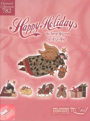 OESD 782 Happy Holidays Card
