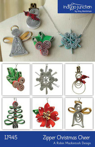Indygo Junction Zipper Christmas Cheer Sewing Pattern