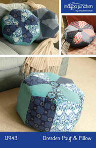 Indygo Junction Dresden Pouf & Pillow Sewing Pattern