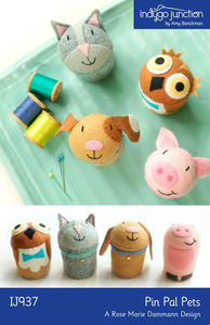 Indygo Junction Pin Pal Pets Sewing Pattern