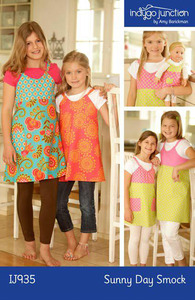 Indygo Junction Sunny Day Smock Sewing Pattern