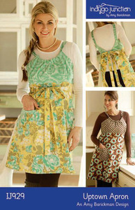 Indygo Junction IJ929 Uptown Apron Sewing Pattern