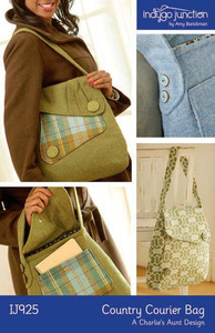 Indygo Junction Country Courier Bag Sewing Pattern