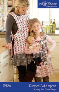 Indygo Junction Dressed Alike Apron Sewing Pattern