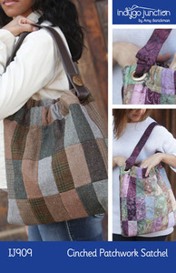 Indygo Junction Cinched Patchwork Satchel Sewing Pattern