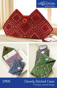 Indygo Junction Cleverly Stitched Cases Sewing Pattern