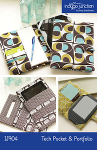 Indygo Junction Tech Pouch & Portfolio Sewing Pattern