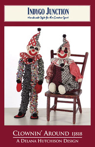 Indygo Junction Clownin' Around Sewing Pattern