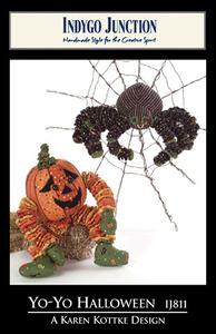 Indygo Junction 93-6247 Yo-Yo Halloween Sewing Pattern