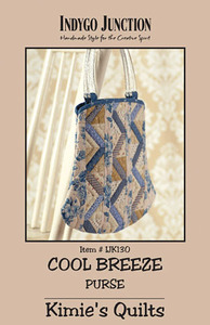 Indygo Junction Cool Breeze Purse Sewing Pattern