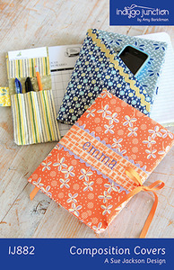 Indygo Junction Composition Covers Sewing Pattern