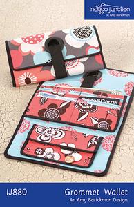 Indygo Junction Grommet Wallet Sewing Pattern