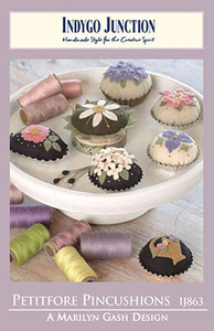 Indygo Junction Petitfore Pincushions Sewing Pattern