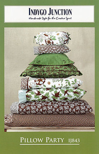Indygo Junction Pillow Party Sewing Pattern