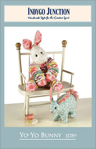 Indygo Junction 93-2837 Yo-Yo Bunny Sewing Pattern