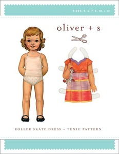 Oliver + S Roller Skate Dress & Tunic (5-12) Sewing Pattern