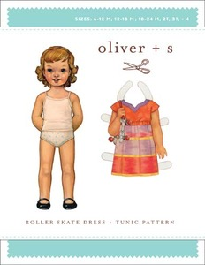 Oliver + S Roller Skate Dress & Tunic (6m-4) Sewing Pattern