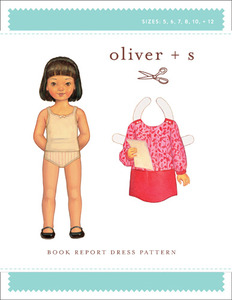 Oliver + S Book Report Dress (5-12) Sewing Pattern