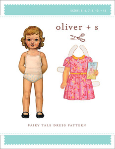 Oliver + S Fairy Tale Dress (5-12) Sewing Pattern