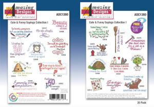 Amazing Designs /Great Notions 1380 Cute And Funny Sayings Collection I Multi-Formatted CD