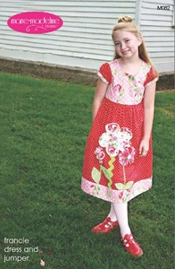 Marie-Madeline Studio M082 Francie Dress & Jumper Sewing Pattern