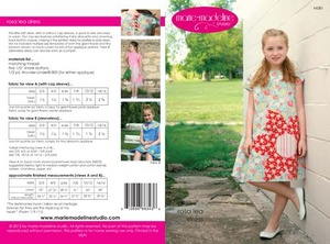 Marie-Madeline Studio M081 Rosalea Shift Dress Sewing Pattern