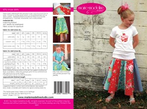 Marie-Madeline Studio M079 Kitty Mae Skirts Sewing Pattern
