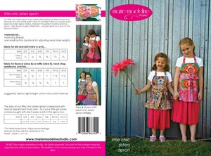 Marie-Madeline Studio M074 Little Chic Sisters Apron Sewing Pattern