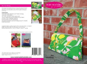 Marie-Madeline Studio M063 Ilsa Handbag Sewing Pattern