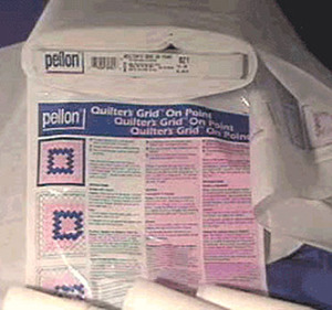 "Pellon 821 Quilters Grided Fusible Non Woven Interfacing 44""x25Yd Bolt"