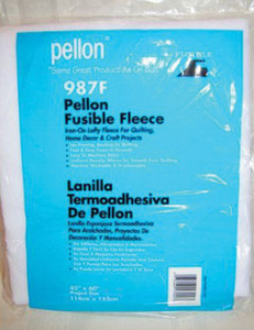 "Pellon 987F Fusible Poly Fleece 45""x20Yds Pack White, HandBags, Purses"