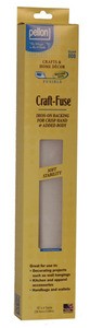 """Pellon Craft-Fuse 15"""" x 4 yd Iron-on Fusible Stabilizer Interfacing"""