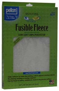 """Pellon Fusible Fleece 22"""" x 36"""" Iron-on Fusible Quilting Fleece"""