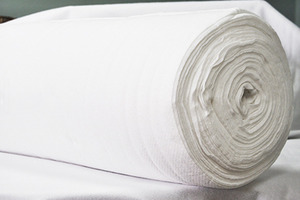 "Legacy AR-96 Pellon 80/20 Natural Cotton Blend 96""x30Yd Roll Needle Punched Batting, No Scrim"