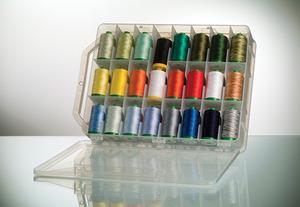 Aurifil LA12VA48 Valigia 12wt Lana Wool 48 Spools x 383Yds Thread Kit ITALY