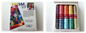 Aurifil Prism Kit 10 Small Spools 12wt Cotton Thread Kit
