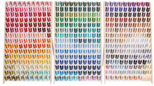Robison Anton 1100Yd x All 453 Colors, Poly Embroidery Machine Thread 40wt, Wood Racks, All Made in the USA!