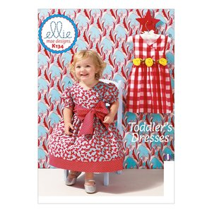 Ellie Mae Designs K134 Toddler's Dresses Sewing Pattern