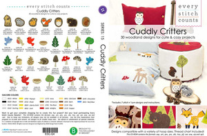 Every Stitch Counts - Cuddly Critters  Embroidery Design CD