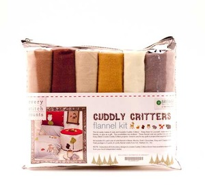 Every Stitch Counts - Cuddly Critters Flannel Kit