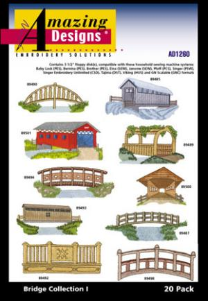 Amazing Designs / Great Notions 1260 Bridge Collection I Multi-Formatted CD