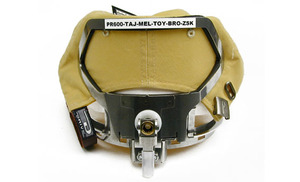 44693: Hoop Tech 5997 Back of Hat Clamp Frame, Rear Cap Embroidery, Brother PRS1 PR6 PR10, Babylock