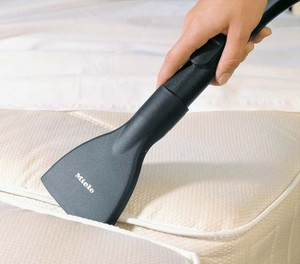 Miele SMD10 Mattress Tool For Cleaning Embedded Debris And Surface Lint From Mattresses As Well As Most Upholstery, for all Canister Vacuum Cleaners