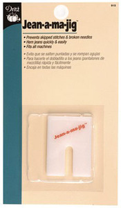Dritz Jean-A-Ma-Jig, Sew Level when Hemming Multiple Layer Thick Seams