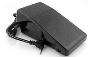 44750: Brother Babylock XC6651051 XC6651121 Foot Control Pedal, Single Pin Cord N5V/FC313