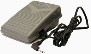 HP31098-2 Foot Control Pedal+1Pin Cord  for Singer 9910, 9920, 9940, 9960, XL3400* and Newer Models