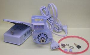 Motorization FM190CW Sewing Machine Motor, Belt, Brushes, Foot Control, Cords Plugs