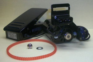 Motorization FM190C Sewing Machine Motor, Belt, Bracket, Bolt, Foot Control, Cords