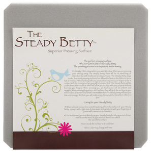 """Steady Betty SB1212, 12""""x12"""" Ironing Board Pressing Surface, Holds Down Fabrics for Quilt Pieces and Garment Sewing"""